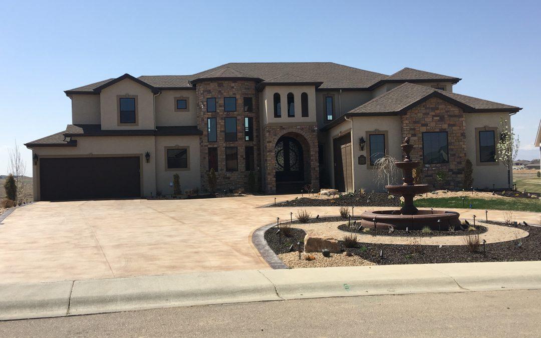 Large Scale Custom Home